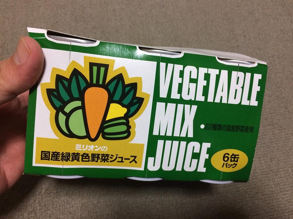 ミリオン野菜ジュース6缶パック